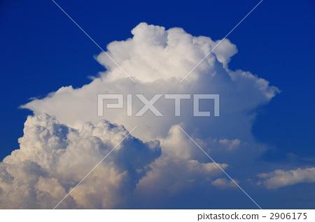푸른 하늘과 여름의 구름 2906175