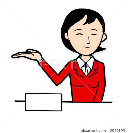 receptionist girl, counter, information desk 2922195
