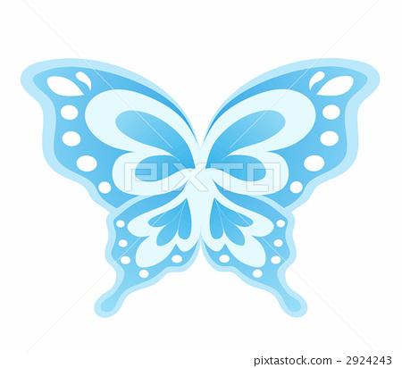 나비 (블루) 2924243