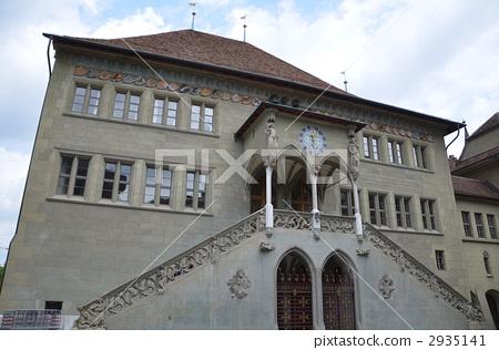 Bern, city hall. June. 2935141
