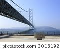 Akashi Kaikyo Bridge seen from Maiko Park 3018192