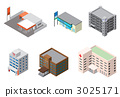 各种建筑物 3025171