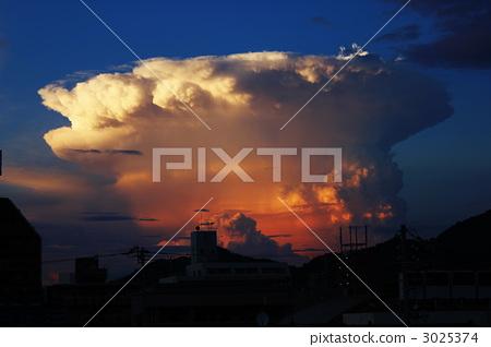 Earthquake cloud 3025374