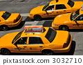 時代廣場的黃色出租車 3032710