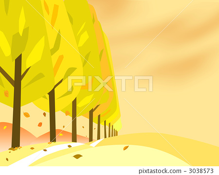 Fall trees in autumn 3038573