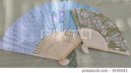 japanese fan, daily necessities, sundries 3046081
