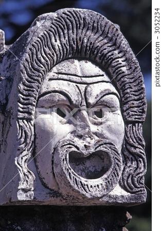 고대 로마의 마스크 3052234