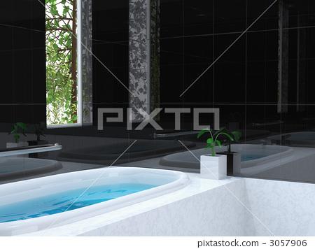 Bathroom black 3057906