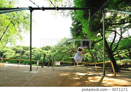 타마가와 다이 공원 그네 20 3071171