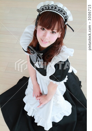 Cute beautiful maid figure 3086715