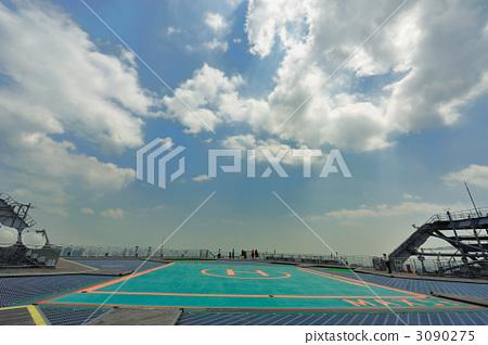 Sky deck heliport 12 3090275