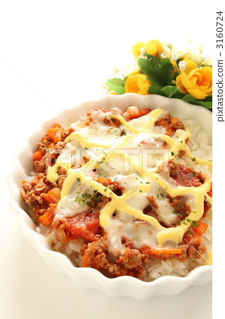 Meat sauce and cheese doria 3160724
