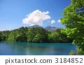 Goshikinuma and Mt. Bandai 3184852
