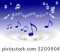 음악과 비누 방울 3200904