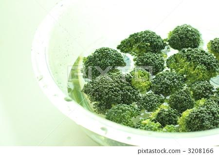 Prepare a domestic broccoli 3208166