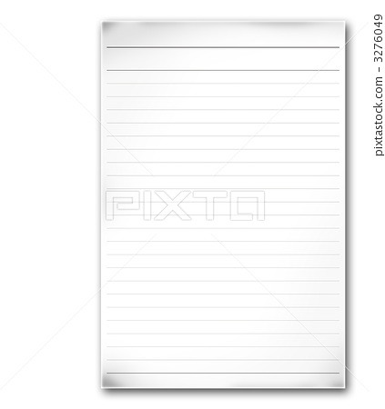 report paper, blank form, notebook - Stock Illustration [3276049 ...