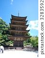 Yamaguchi ken Rurikoji Temple five stories 3283592