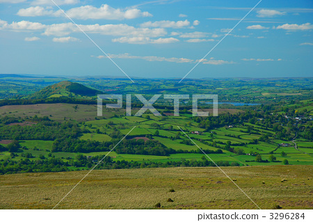 brecon beacons, wales, national park 3296284