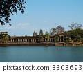 吳哥窟 寺院和神廟 石造 3303693