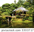 สวนญี่ปุ่่น,ต้นสน,แหล่งน้ำ 3303717