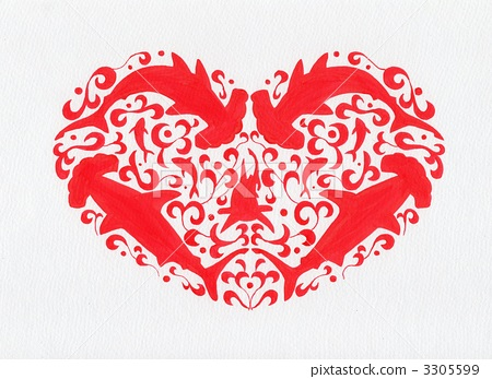 heart, hearts, Red And White 3305599