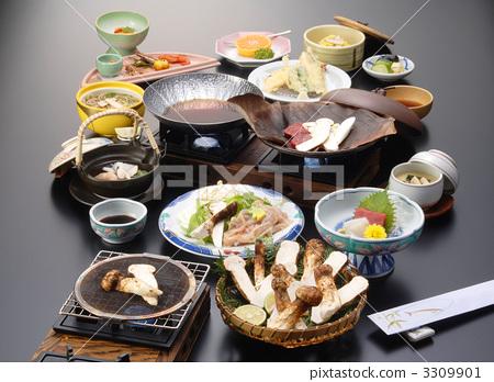 松茸蘑菇懷石料理 3309901