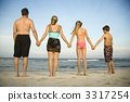 Family at the Beach 3317254