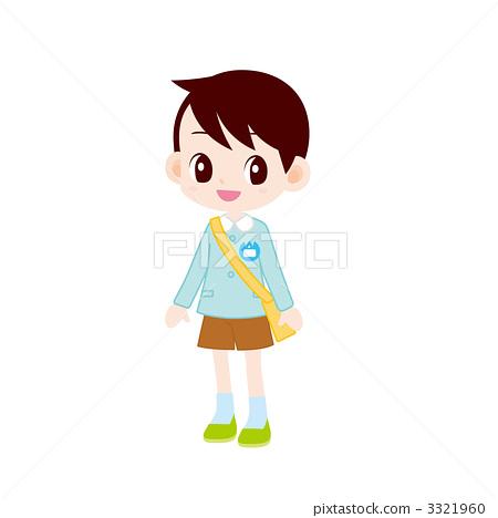 보육원 아의 소년 3321960