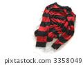 검 붉은 국경 니트 3358049