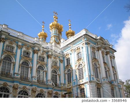 러시아 에테카리나 궁전 3368946