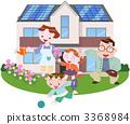 太陽光発電住宅家族 3368984