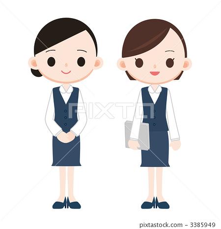 Women in clerical work 3385949