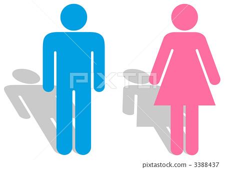 厕所标志_ 04 3388437