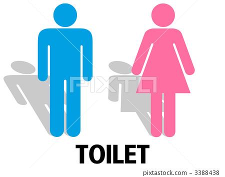 Toilet Mark, Bathroom Sign, Loo 3388438