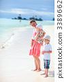海洋 母亲 家庭 3389662