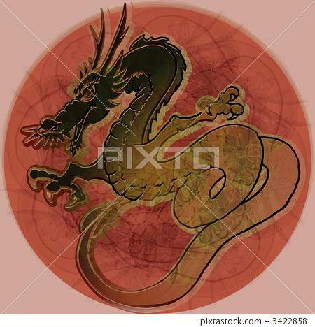 dragon (zodiac), dragon, mascot 3422858