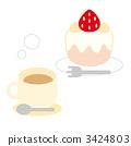 shortcake, snack, strawberry 3424803