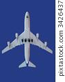 喷气式飞机 喷气式客机 出发 3426437