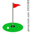 골프, 단순, 심플 3435488