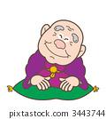 Rakugo家庭噺家祖父的插圖 3443744