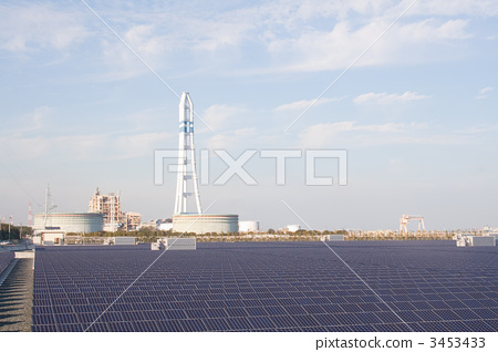 Mega solar power generation and co-generation of thermal power generation 3453433