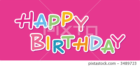 happy Birthday 3489723
