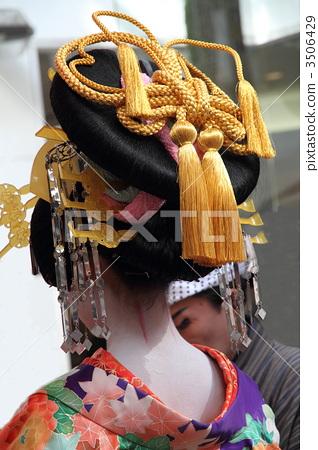 일본 전통 머리 스타일, 일본식 헤어스타일, 일본 전통 헤어스타일 3506429