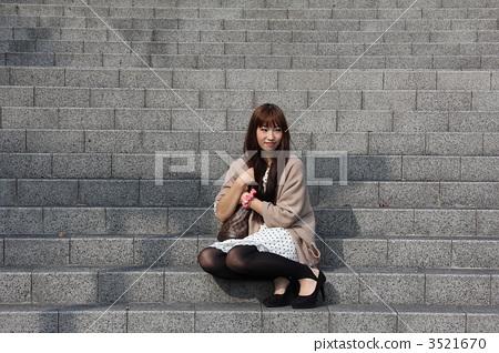 포트레이트, 인물 사진, 1명 3521670