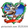 กวางเรนเดียร์,คริสตมาส,ของขวัญคริสต์มาส 3525309