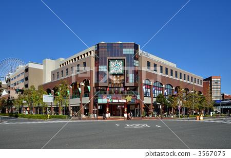 요코하마 산책 요코하마 월드 포터 스 3567075