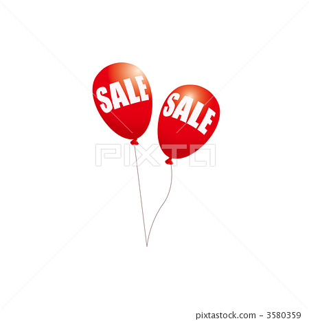 Illustration of a red sail balloon 3580359