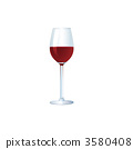 Illustration of red wine 3580408