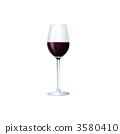 Illustration of red wine 3580410