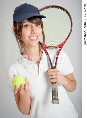 Female tennis player 3616720